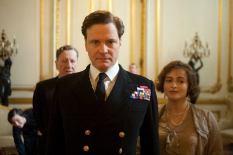 """Colin Firth is shown in a scene from """"The King's Speech."""" (Photo credit: The Weinstein Company)"""