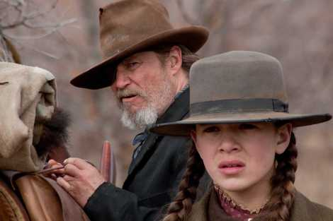 """Jeff Bridges and Hailee Steinfield are shown in a scene from """"True Grit"""" (2010). (Photo credit: Paramount Pictures)"""