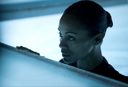 "Zoe Saldana is shown in a scene from ""Colombiana."" (Photo credit: TriStar Pictures)"
