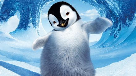 "Above, a still from ""Happy Feet 2."" (Photo credit: Warner Bros. Pictures)"