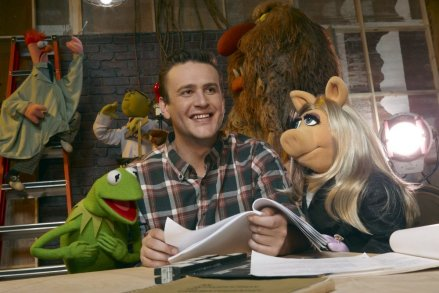 "Jason Segel is shown in a scene from ""The Muppets."" (Photo credit: Walt Disney Studios Motion Pictures)"