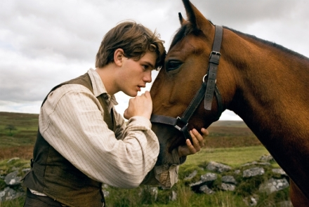 "Jeremy Irvine is shown in a scene from ""War Horse."" (Photo credit: Walt Disney Studios Motion Pictures)"