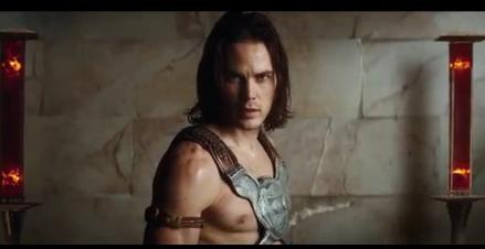 "Taylor Kitsch is shown in a scene from ""John Carter."" (Photo credit: Walt Disney Studios Motion Pictures)"