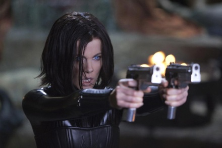 "Kate Beckinsale is shown in a scene from ""Underworld: Awakening."" (Photo credit: Screen Gems)"