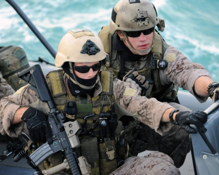 "Above, a scene from ""Act of Valor."" (Photo credit: Relativity Media)"