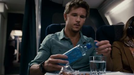 "Ryan Kwanten is shown in a scene from ""7500."" (Photo credit: CBS Films)"