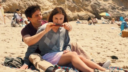 "Steve Carell and Keira Knightley are shown in a scene from ""Seeking a Friend for the End of the World."" (Photo credit: Focus Features)ac"