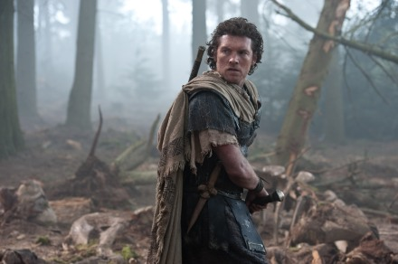 "Sam worthington portrays Perseus in a scene from ""Wrath of the Titans."" (Photo credit: AP photo by Warner Bros. and Legendary Pictures)"