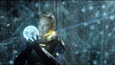 "Michael Fassbender in a scene from ""Prometheus."" (Photo credit: AP photo by 20th Century Fox, Kerry Brown)"