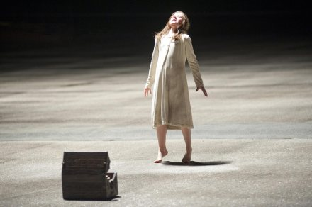 "Above, a scene from ""The Possession."" (Photo credit: Lionsgate)"