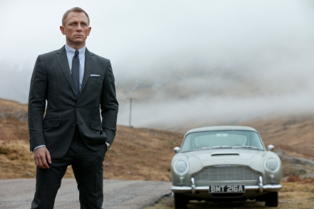 "Daniel Craig as James Bond is shown in a scene from ""Skyfall."" (Photo credit: AP photo  by Sony Pictures, Francois Duhamel)"