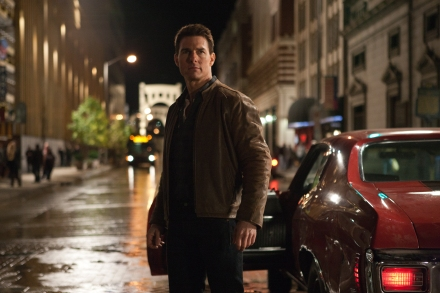 "This publicity film image released by Paramount Pictures shows Tom Cruise in a scene from ""Jack Reacher."" (Photo credit: AP photo/Paramount Pictures, Karen Ballard, file)"
