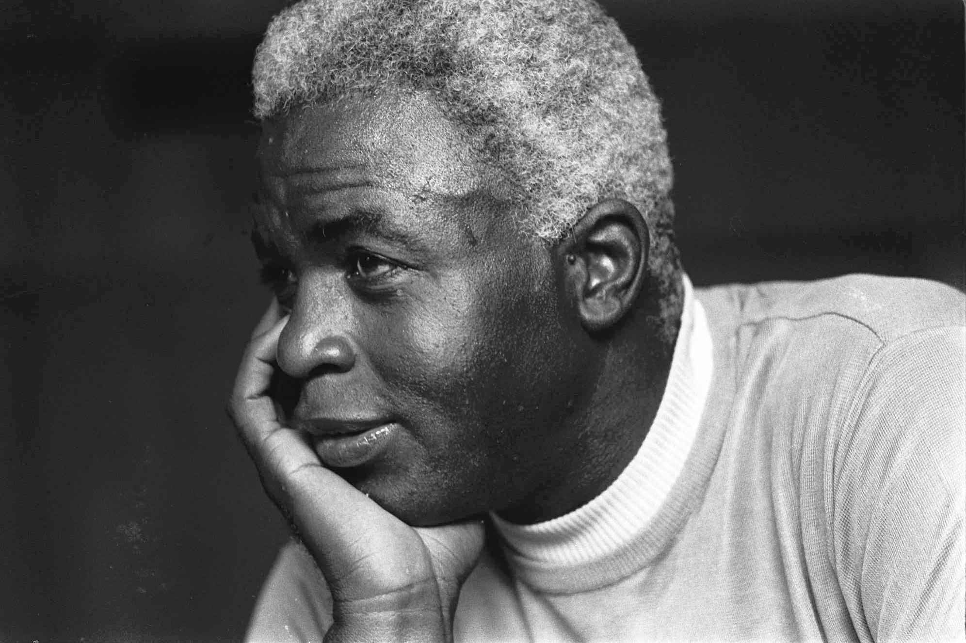 In this june 30 1971 file photo jackie robinson poses at his home