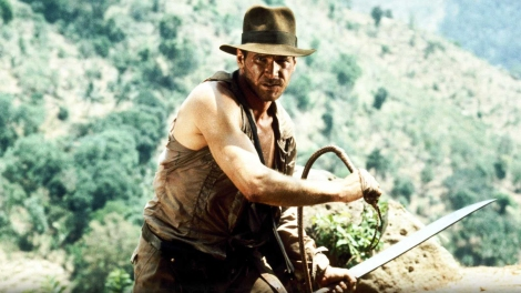 Above, Harrison Ford as Indiana Jones. (Photo credit: Paramount Pictures)