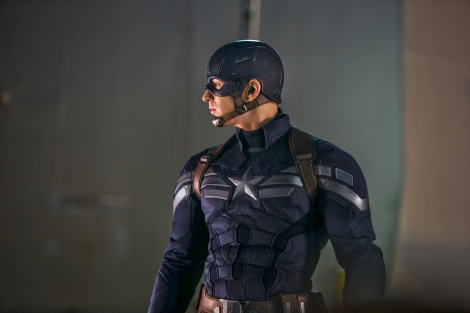 """Chris Evans stars in """"Captain America: The Winter Soldier."""" (Photo credit: AP photo by Marvel-Disney, Zade Rosenthal)"""