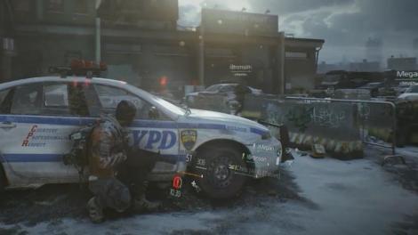 """Above, a scene from """"Tom Clancy's The Division."""" (Photo credit: Ubisoft)"""