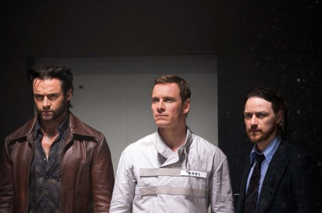 "Hugh Jackman, from left, Michael Fassbender and James McAvoy star in ""X-Men: Days of Future Past."" (Alan Markfield/Marvel/MCT)"