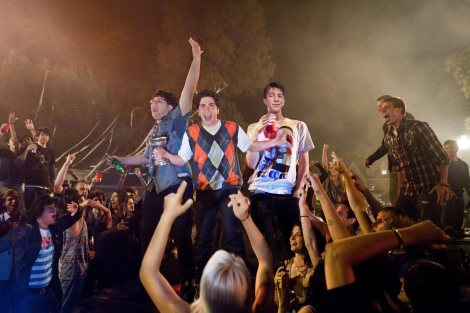 """Above, a scene from """"Project X."""" (Photo credit: Warner Bros. Pictures)"""