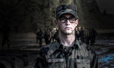 "Joseph Gordon-Levitt is shown in a scene from ""Snowden."" (Photo credit: Open Road Films)"