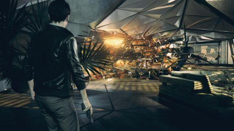 """Above, a scene from """"Quantum Break."""" (Photo credit: Remedy Entertainment)"""