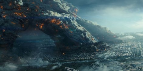 "Above, a scene from ""Independence Day: Resurgence."" (Photo credit: Twentieth Century Fox Film Corporation)"