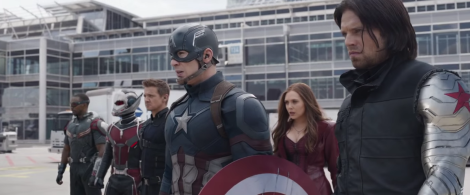 "Above, the scene from ""Captain America: Civil War."" (Photo credit: Marvel)"