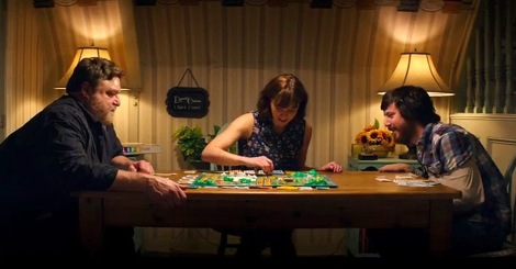 "John Goodman, Mary Elizabeth Winstead and John Gallagher Jr. in ""10 Cloverfield Lane."" (Photo credit: Paramount)"