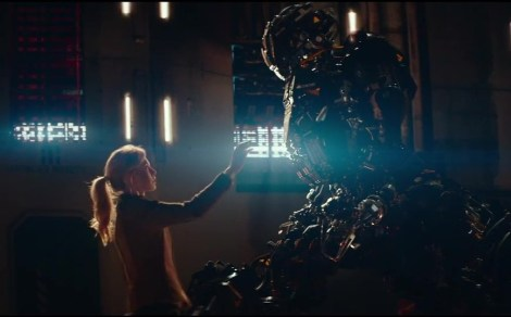 "Above, a scene from ""Kill Command."" (Photo credit: Vertigo Films)"