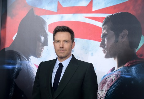 "Ben Affleck attends the premiere of ""Batman v Superman: Dawn of Justice"" at Radio City Music Hall on Sunday, March 20, 2016, in New York. (Photo credit: Charles Sykes/Invision/AP)"