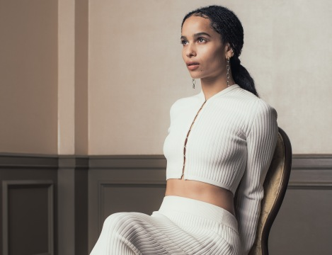 """Actress Zoe Kravitz poses for a portrait on March 5, 2016, to promote her new film """"The Divergent Series: Allegiant"""" at The Four Seasons in Los Angeles. (Photo credit: Casey Curry/Invision/AP)"""