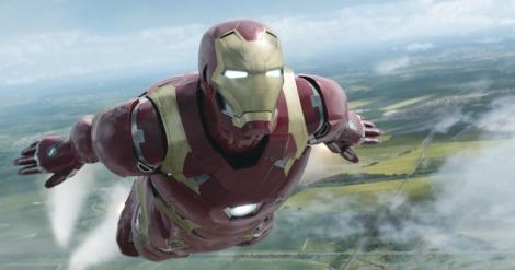 """Robert Downey Jr. in """"Captain America: Civil War."""" (Photo courtesy Marvel Studios)"""
