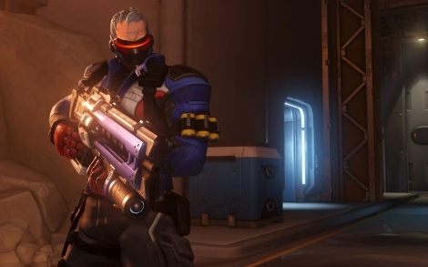 "Soldier: 76, a character from ""Overwatch."" (Photo credit: Blizzard Entertainment)"