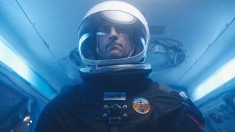 "Mark Strong is shown in a scene from ""Approaching the Unknown."" (Photo credit: Paramount Pictures)"